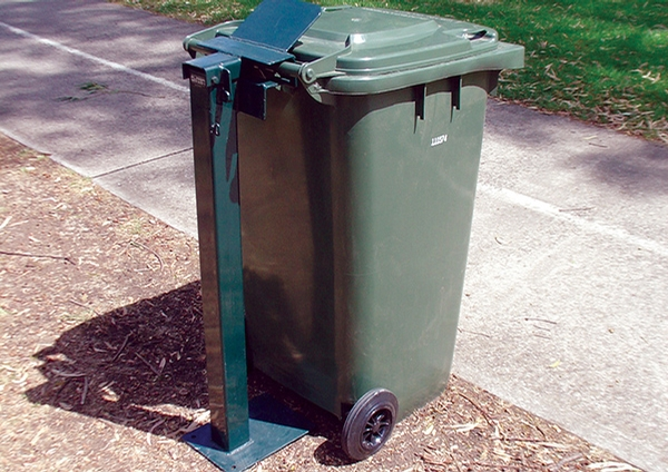 Mobile Garbage Bin Post